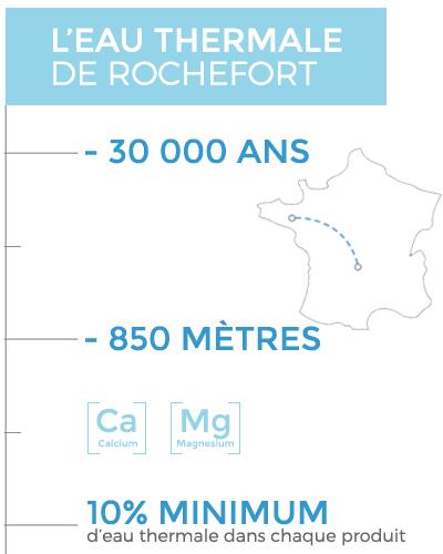 Pourquoi avoir choisi l'Eau thermale de Rochefort pour les soins LA SOURCE Eau Thermale Rochefort<sup>®</sup> ?