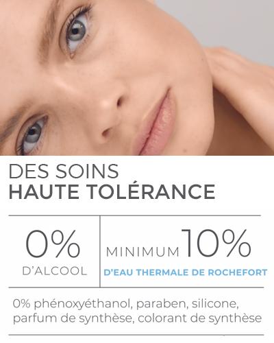 LA SOURCE Eau Thermale Rochefort<sup>®</sup> :  une charte de formulation exigeante